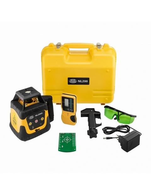 nivel system nl200g комплект приладк, кейс, окуляри, лазерна мішень, зарядний пристрій